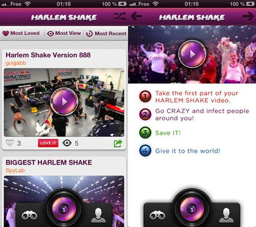 Harlem Shake disp pour  iPhone