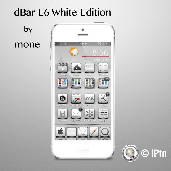dbar e6 white edition