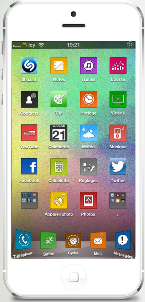 01 iPhone5 Face Vierge