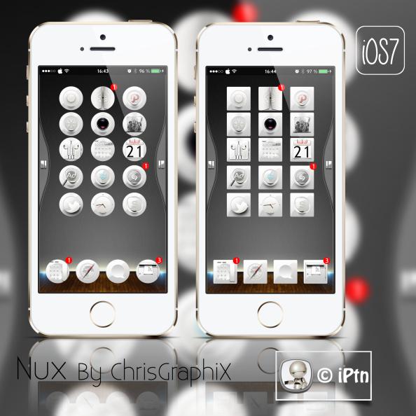 Thème * Nux iOS7 byChrisGraphiX